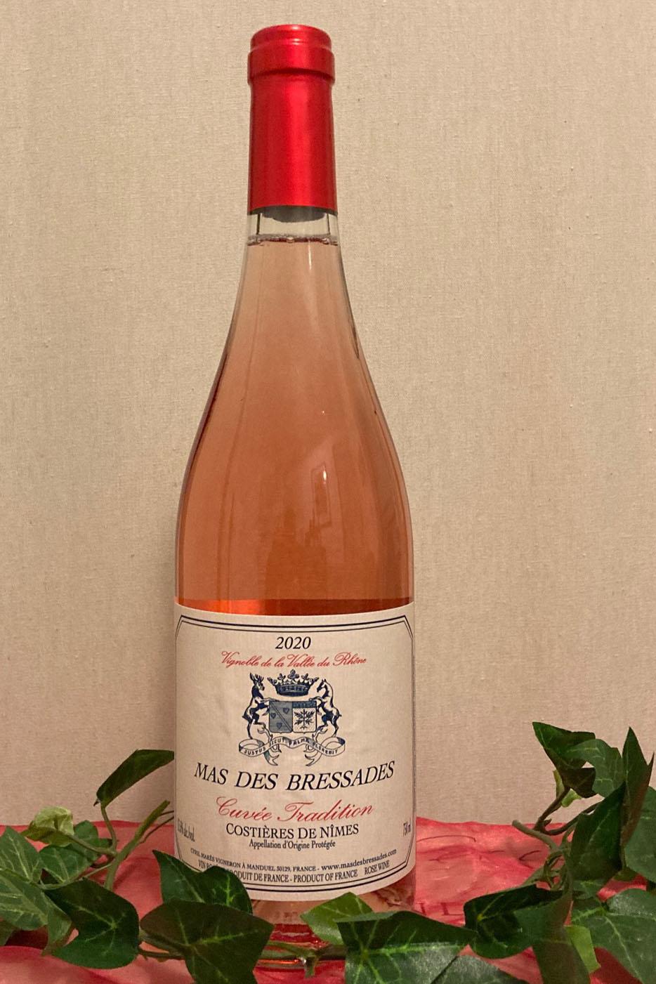 2020 Cuvée Tradition Rosé trocken Bio, Mas des Bressades, Costières de Nîmes